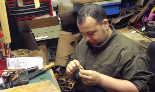 making a sheath